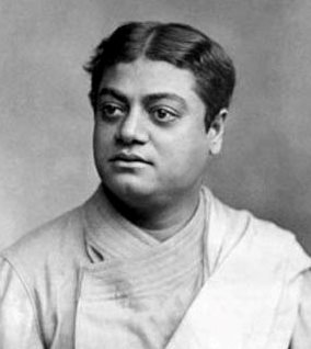 Swami Vivekananda in London in December 1896.