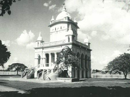 Swami Vivekananda temple at Belur Math, Calcutta.