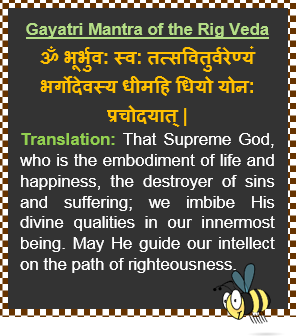 Gayatri Mantra of the Rig Veda
