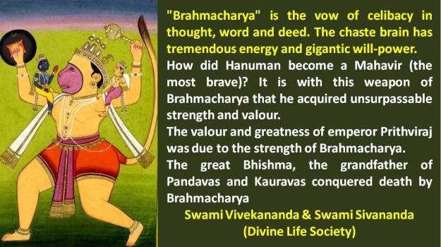 Power of Brahmacharya   Is Sexual Abstinence Old-Fashioned or the Sensible  Thing to Do? (Part 1) – The Spiritual Bee
